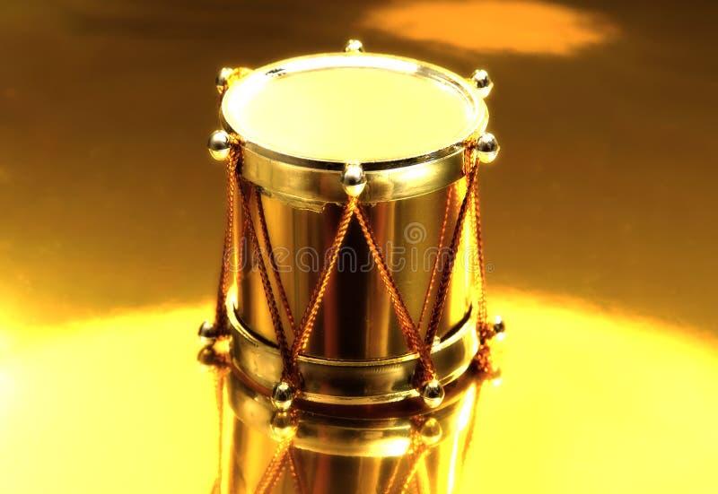 Cilindro do ouro fotografia de stock royalty free