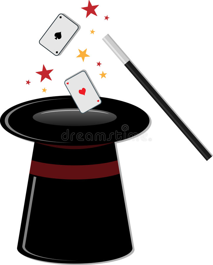 Cilindro mágico libre illustration