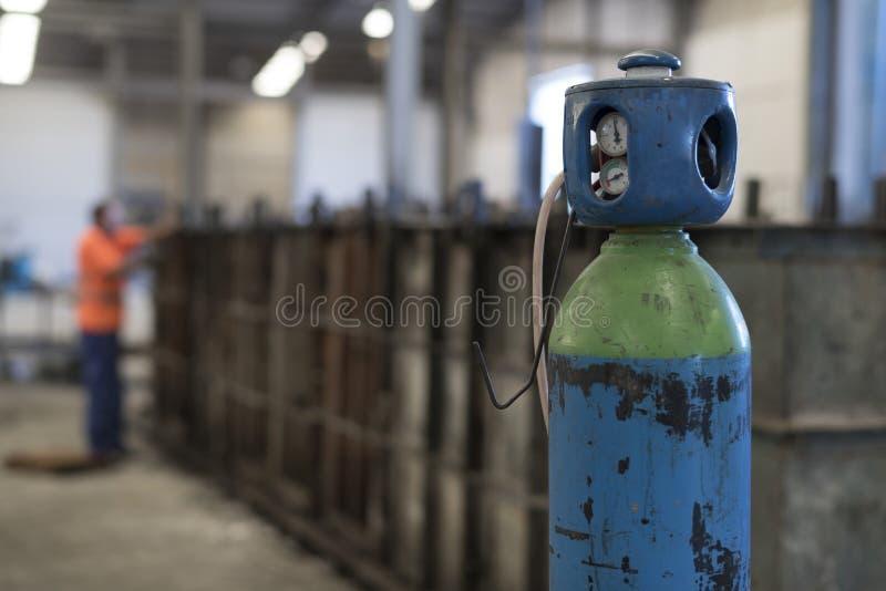 Cilindro ou gás comprimido, líquido fotos de stock