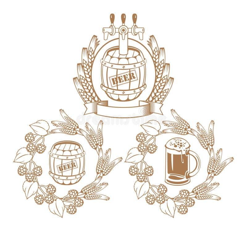 Cilindros ilustração royalty free