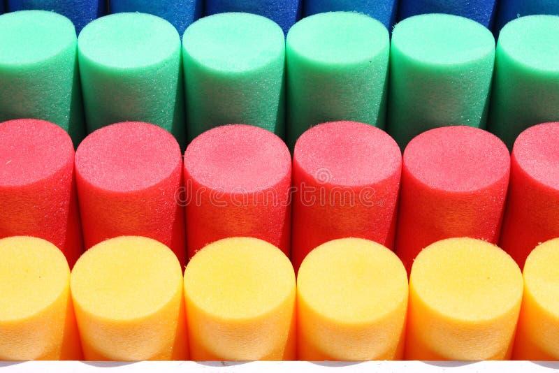 Cilindros coloridos imagens de stock royalty free