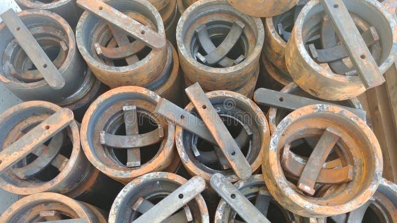 Cilindros del metal fotografía de archivo