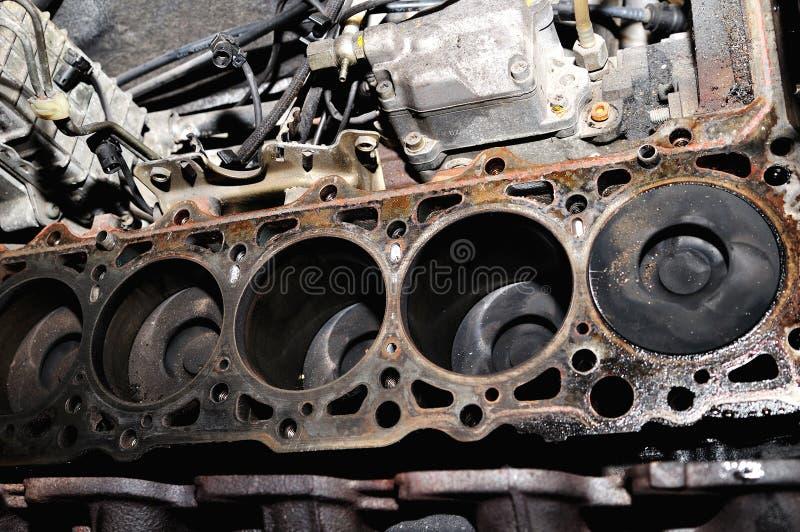 Cilindros del motor. foto de archivo libre de regalías