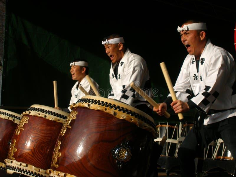 Cilindros japoneses foto de stock royalty free