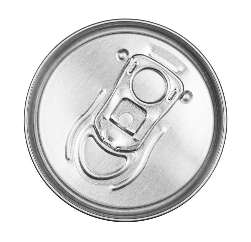 Cima del barattolo di latta fotografie stock