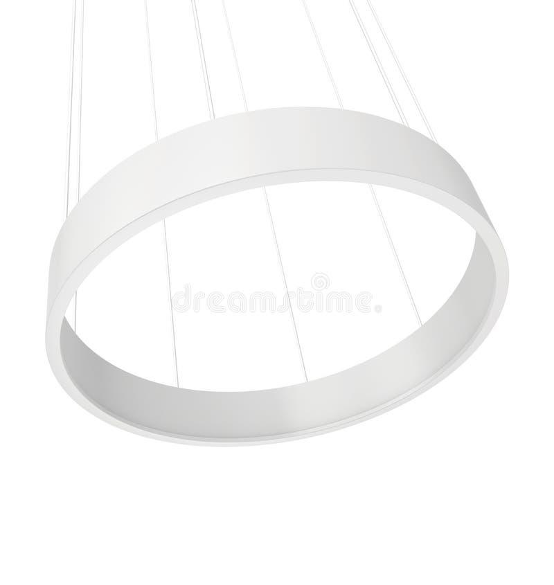 Cima del cerchio del supporto di mostra illustrazione di stock