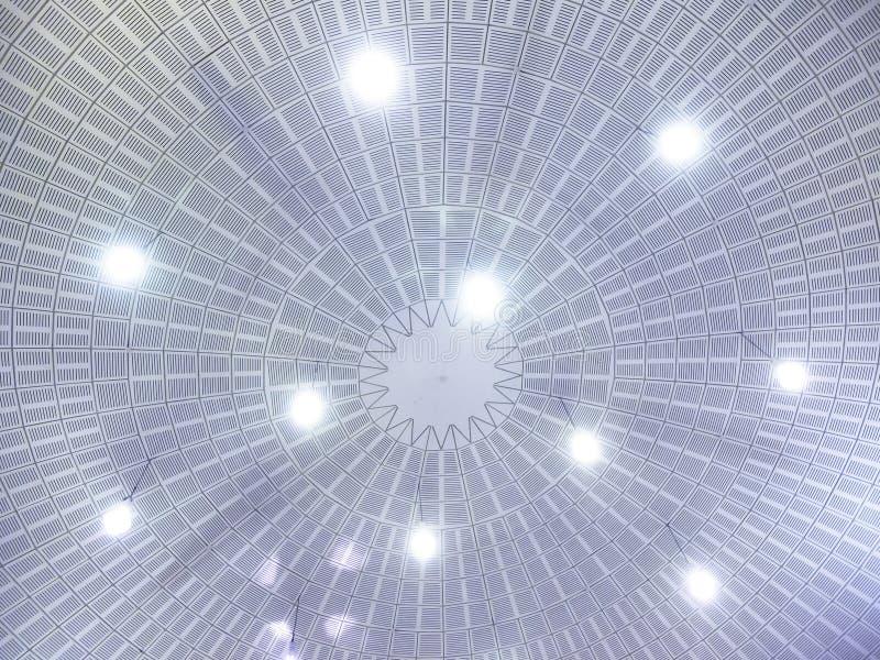 Cima del tetto dentro immagini stock libere da diritti