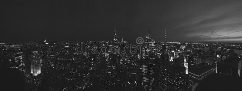 Cima della roccia NYC immagini stock