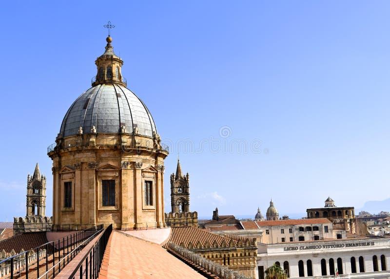 Cima di Palermo fotografia stock