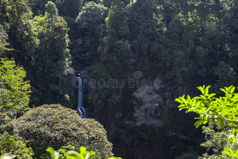 cimahi Wasserfall stockfotografie
