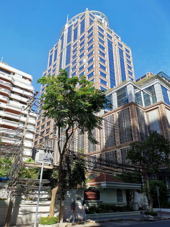 CIMB Thai head office building royalty free stock photos
