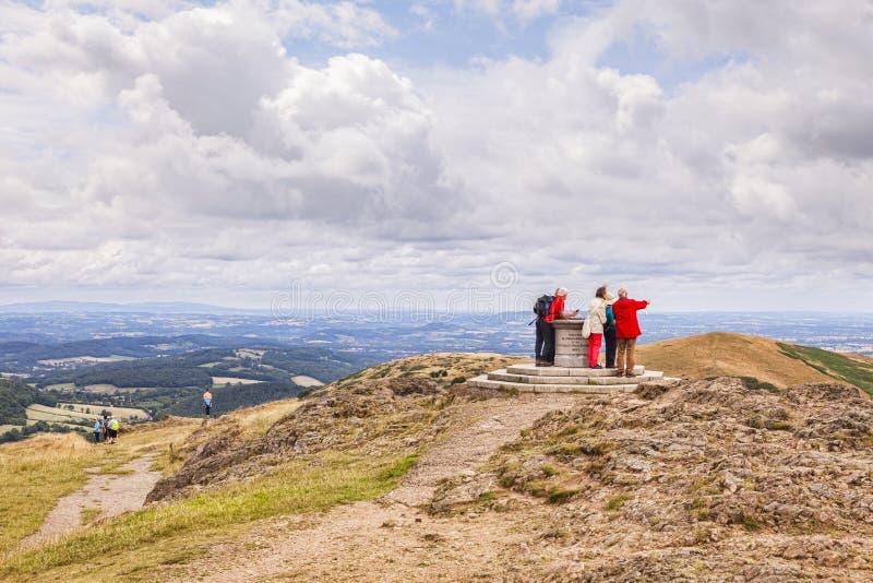 Cimeira da baliza de Worcestershire fotografia de stock royalty free