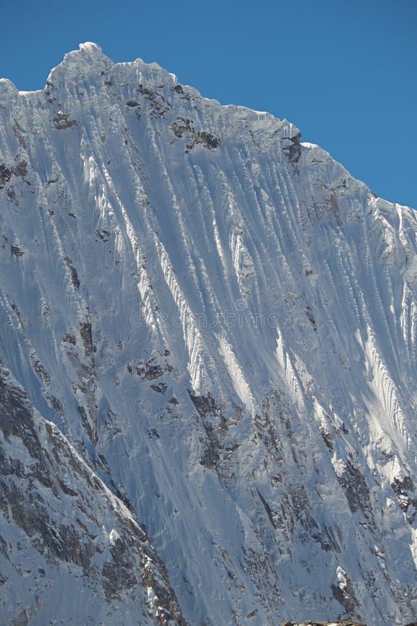 Cimeira de Nevado Ocshapalca fotografia de stock royalty free