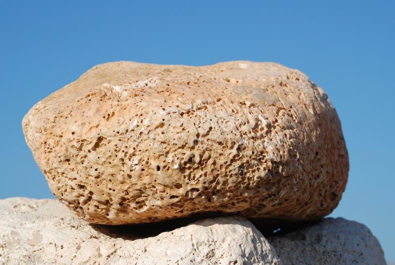 Cimeira de pedra da torre, Halki imagens de stock royalty free