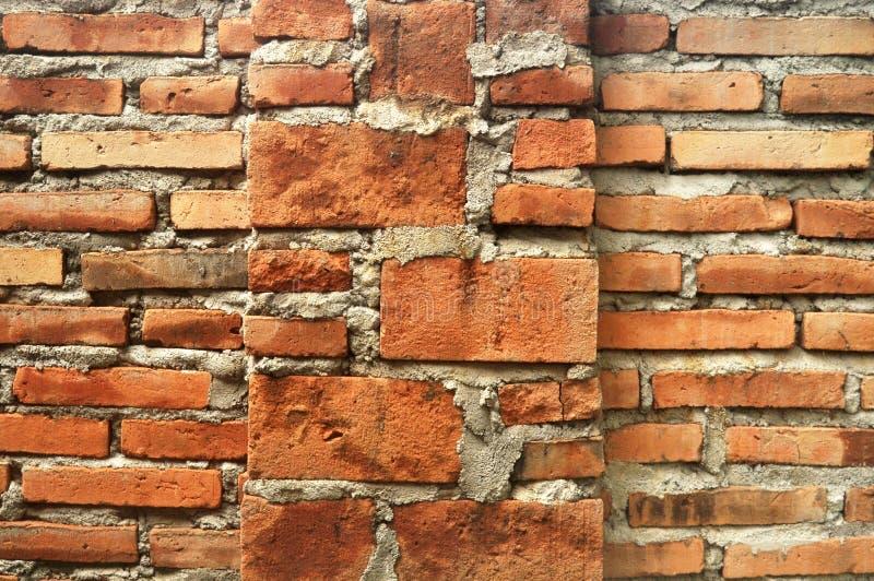 Ciment et milieux de texture de mur de briques photographie stock