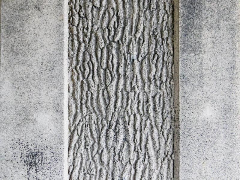 Ciment rugueux avec le fond grunge ou l'élément noir et blanc de texture et gris images stock