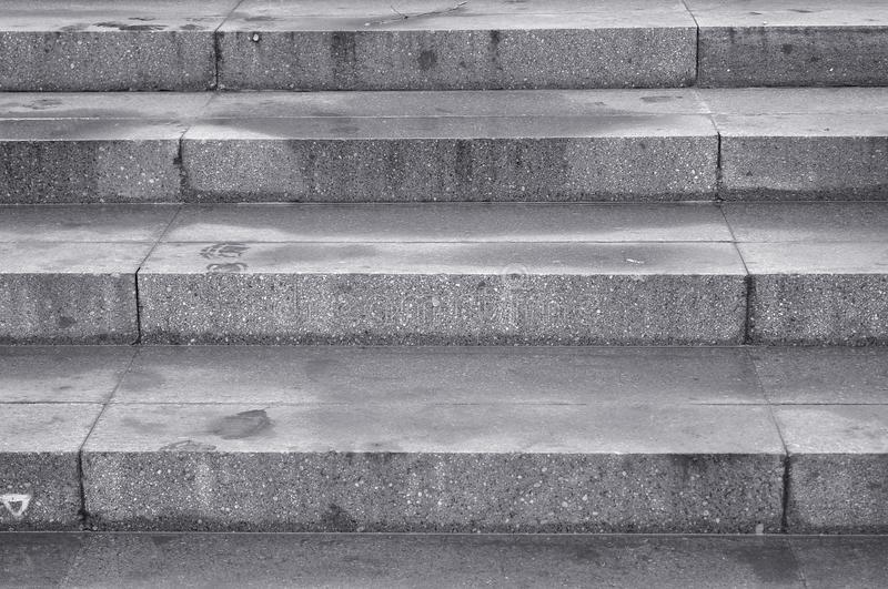 Ciment stairs stock photo