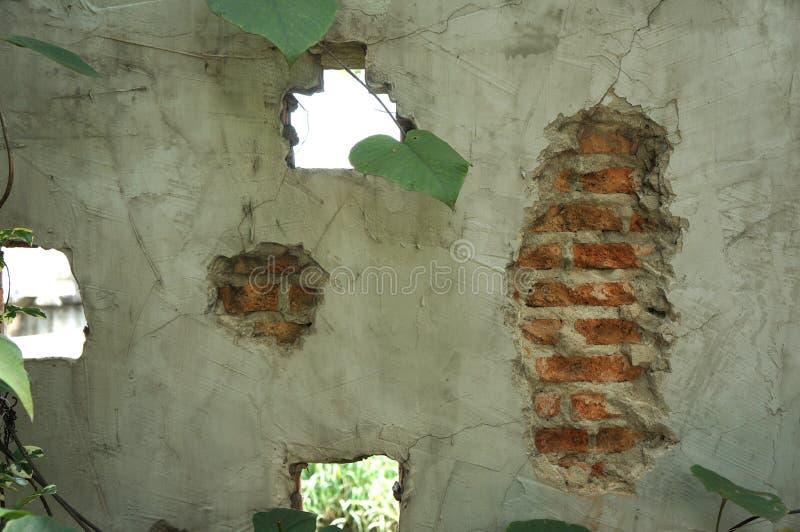 cimentez la texture, murs de briques rouges, idées de conception de style de grenier photographie stock