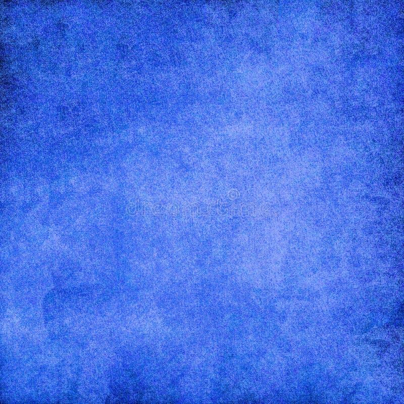 Cimento azul da textura do fundo da parede ilustração royalty free