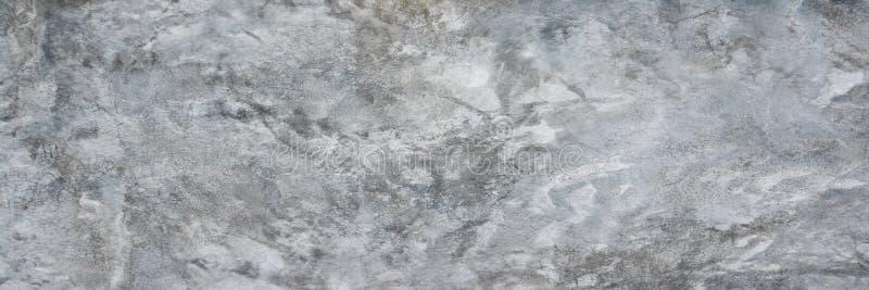 Cimento e muro de cimento do panorama Fundo concreto cru panorâmico da textura foto de stock royalty free