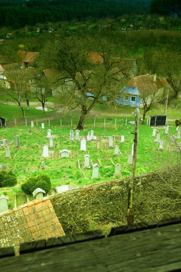 Download Cimetière photo stock. Image du europe, village, religion - 742074