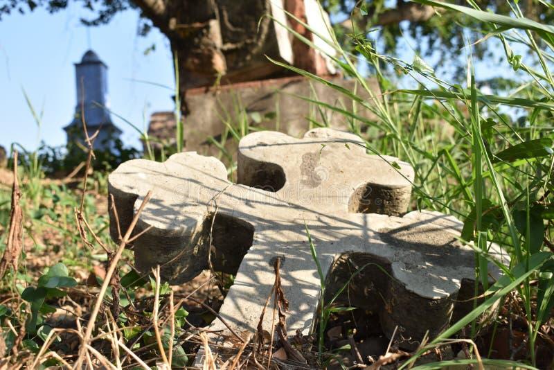 Cimetière dans Colima Mexique photographie stock