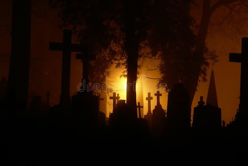 cimetière de bernardine photographie stock libre de droits