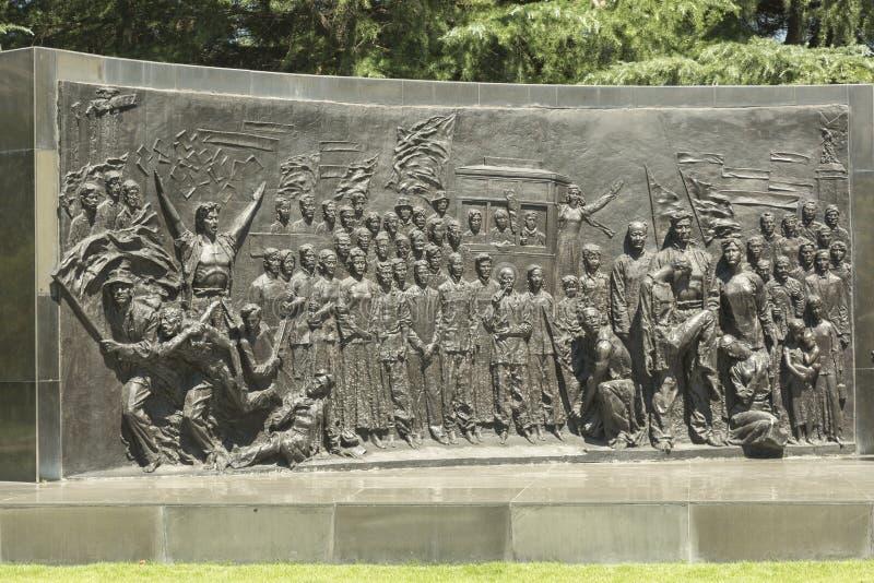 Cimetière de Longhua des martyres révolutionnaires à Changhaï, Chine photos stock