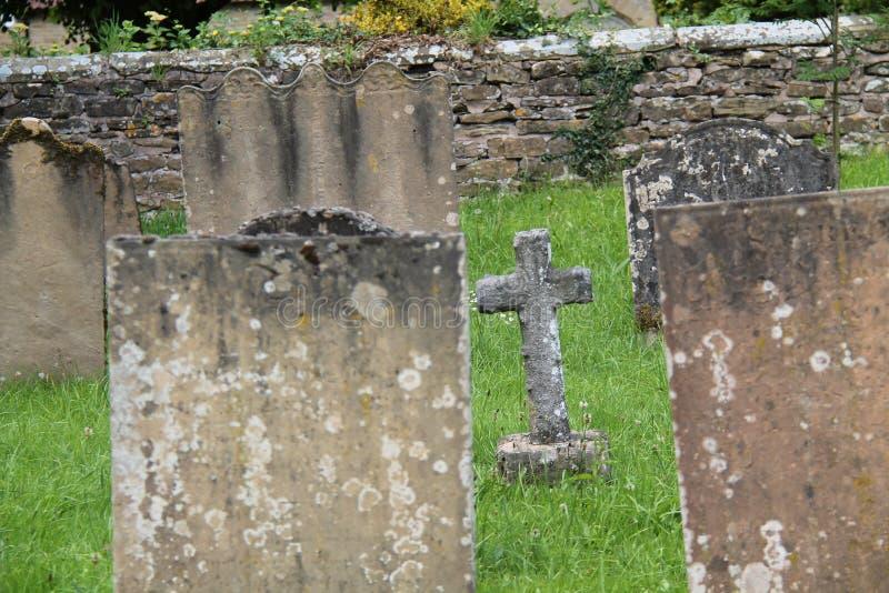 Cimetière de cimetière photos libres de droits