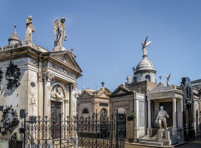 Cimetière de Recoleta - Buenos Aires, Argentine photo libre de droits