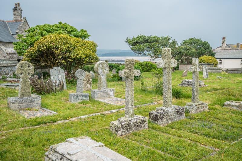 Cimetière de St Michaels Mount photos libres de droits