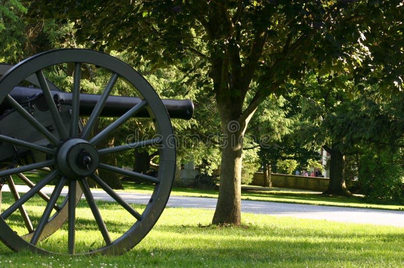 Cimetière national de Gettysburg images libres de droits