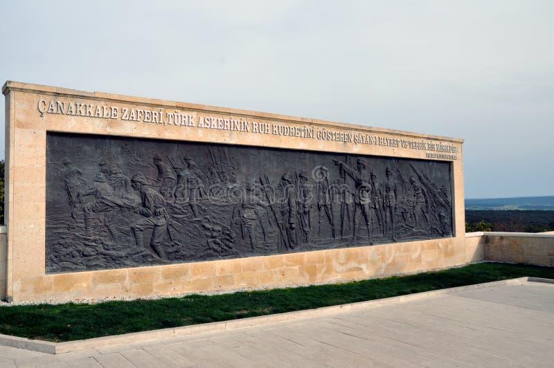 Cimetière turc de guerre, Gallipoli, Turquie photo stock
