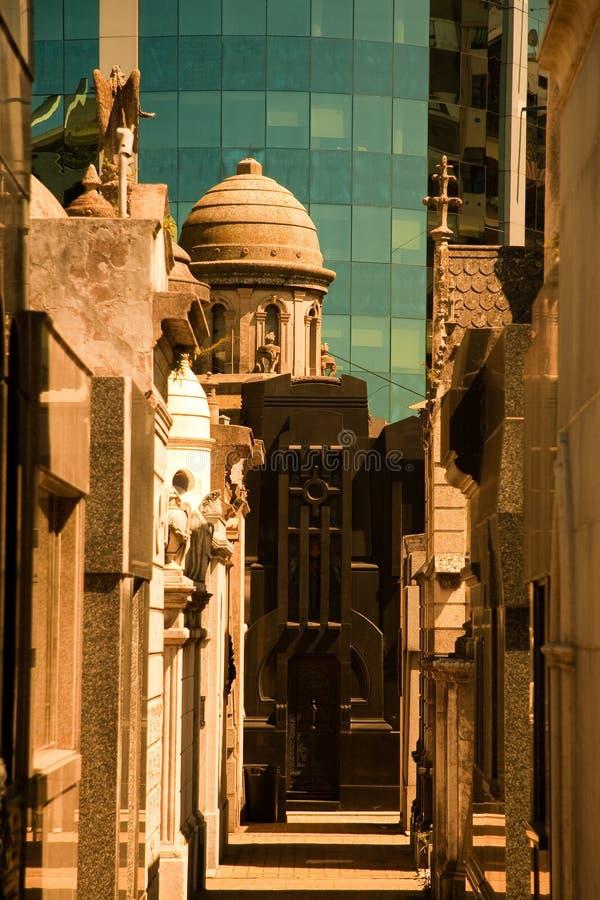 Cimeti?re de Recoleta de La, Buenos Aires image libre de droits