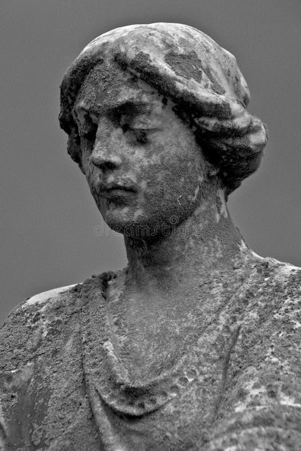 Cimitero abbondante di vita statuario fotografie stock
