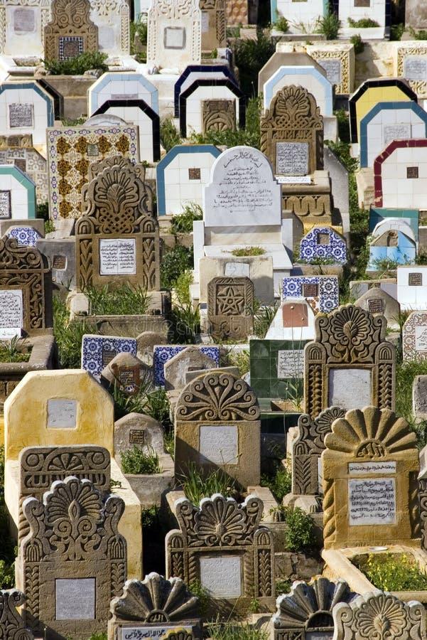 Cimitero arabo fotografia stock libera da diritti