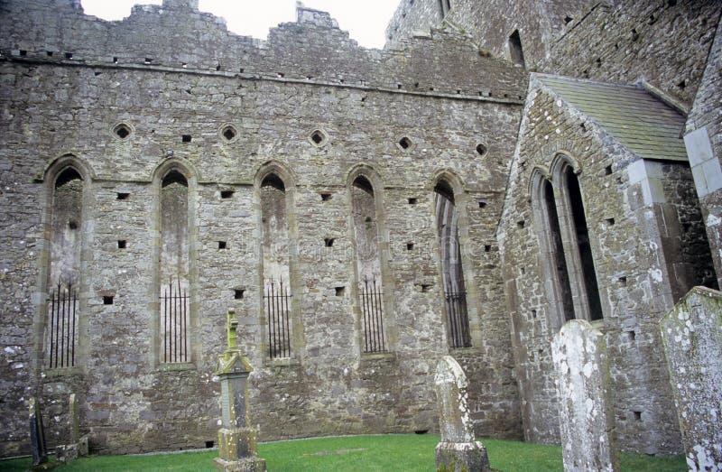 Cimitero celtico fotografie stock