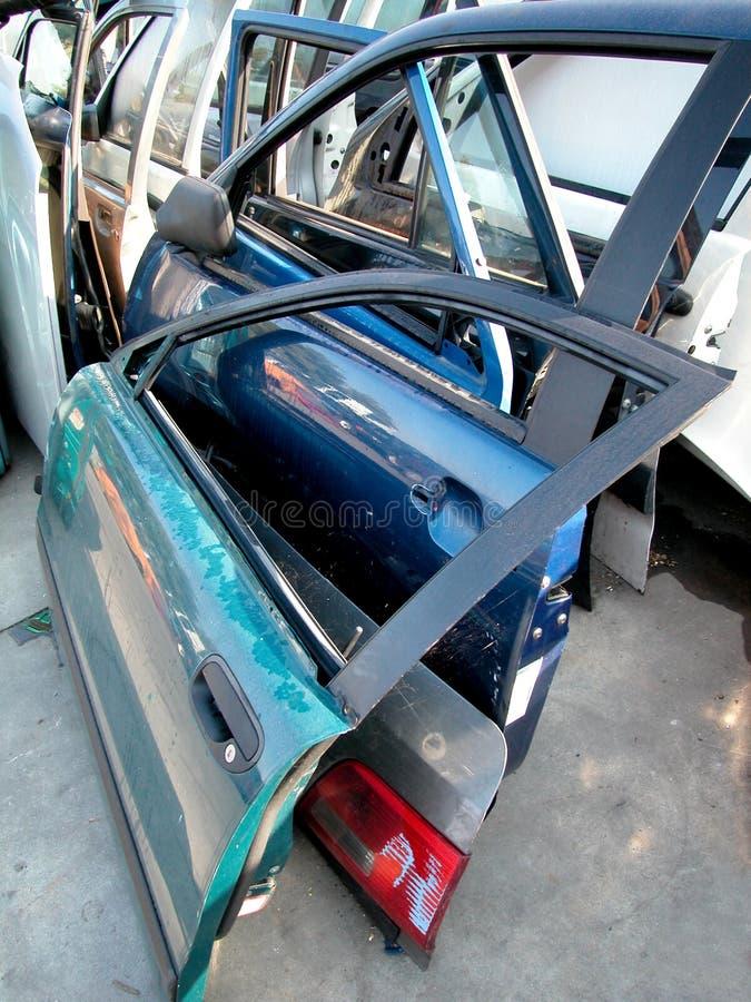 Cimitero Dell Automobile Immagini Stock Libere da Diritti