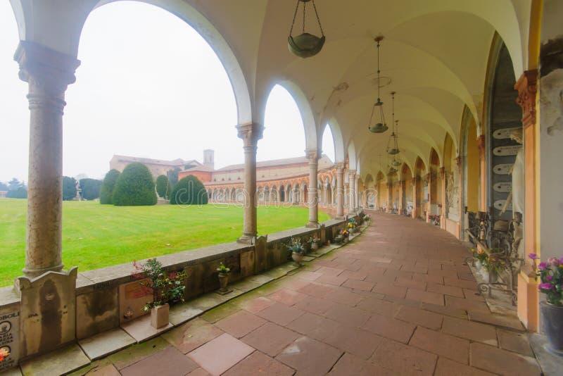 Cimitero della Certosa,费拉拉 库存图片