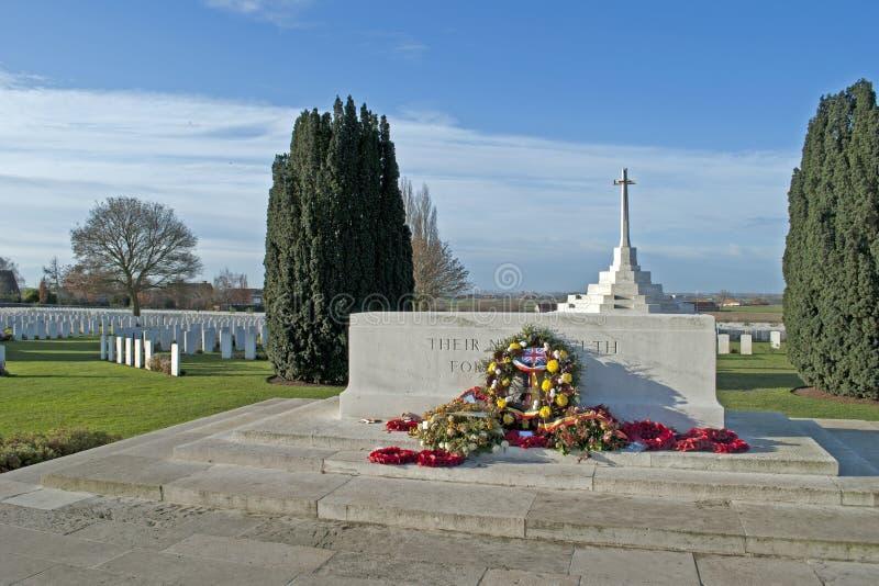Cimitero della culla del Tyne immagini stock