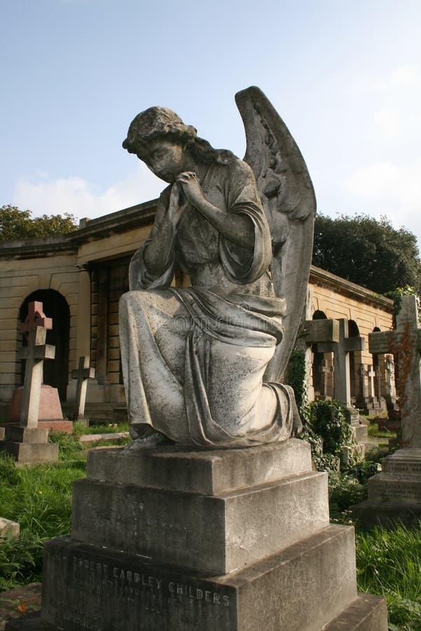 Cimitero di Brompton, Londra immagini stock