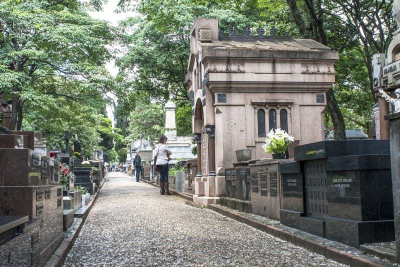 Cimitero di Consolacao immagine stock libera da diritti