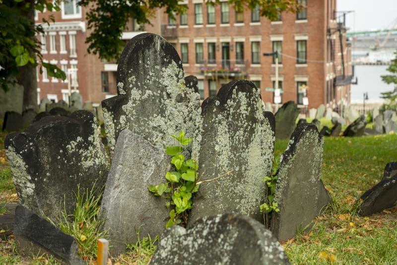 Cimitero di Cimitero Graveyard immagini stock libere da diritti