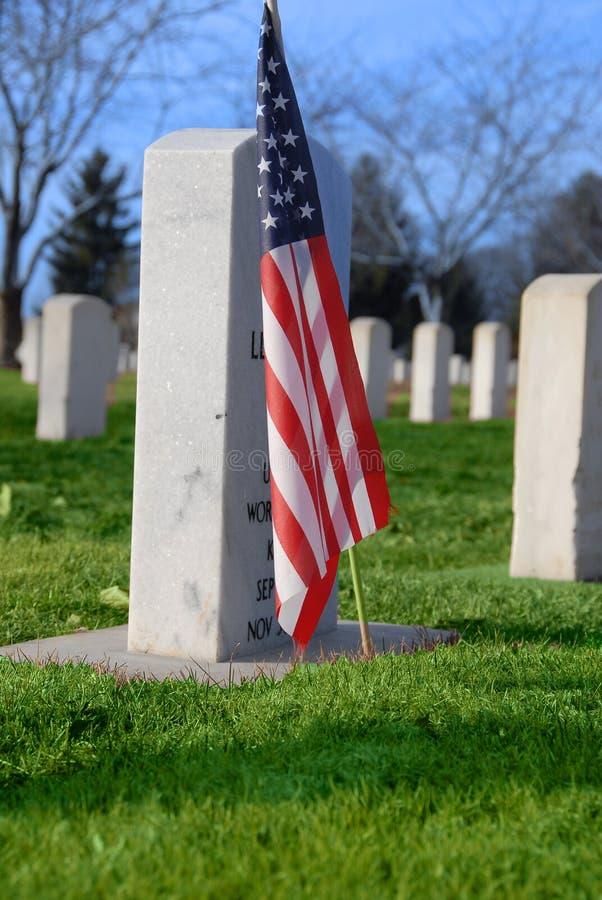 Cimitero di guerra fotografie stock