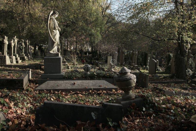 Cimitero di Highgate a Londra fotografie stock libere da diritti
