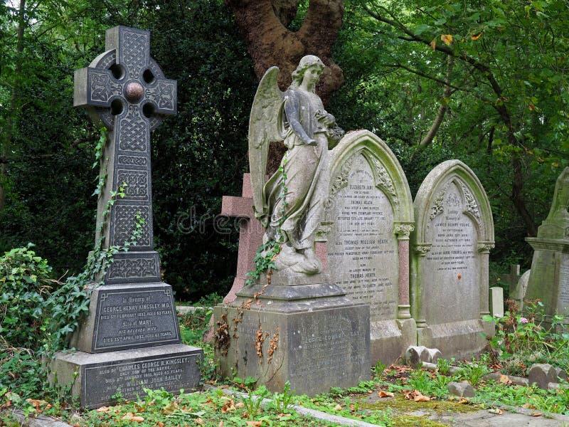 Cimitero di Highgate, Londra fotografie stock libere da diritti