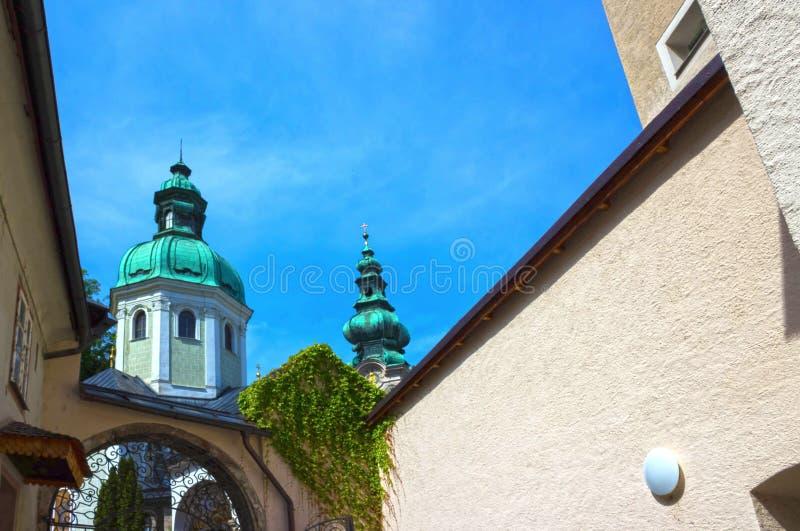 Cimitero di Peter a Salisburgo immagine stock