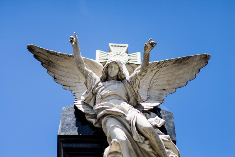 Cimitero di Recoleta della La Buenos Aires, Argentina immagine stock