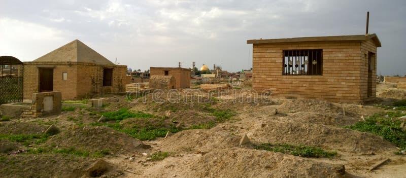 Cimitero di Samarra fotografie stock