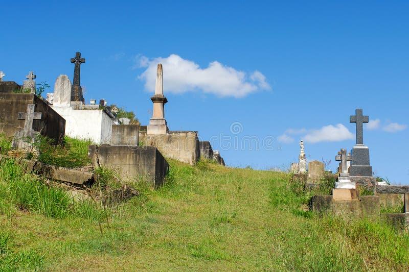 Cimitero di Toowong fotografia stock